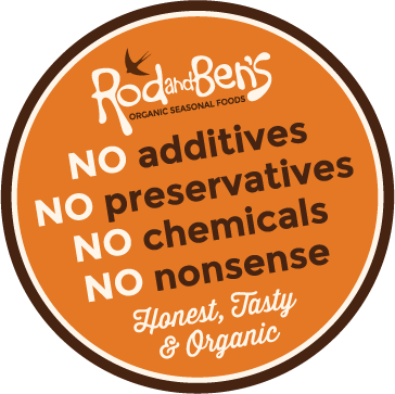 no additives, no preservatives, no chemicals, no nonsense